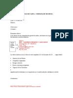Modelo Carta de Circularizaciones Varias