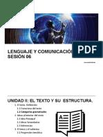 LyC 2018 10 Sesión 06 Categorías Gramaticales