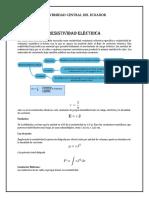 Resistividad eléctrica