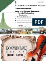 La Música en El Periodo Romantico