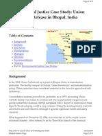 Econ213B1 W09 Beesley Bhopal Case Study