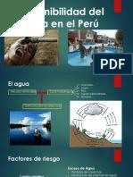Disponibilidad Del Agua en El Perú