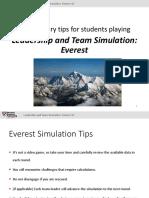 Everest Results Slide