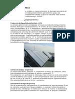 Energia Solar Termica Trabajo