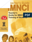 Teacher's Guide for IMNCI Training of Students-441