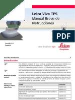 Leica Viva TPS GettingStartedGuide Es