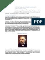 Principales Compositores Del Período Nacionalista