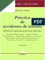 Practicas de Accidentes de Transito. 2015. Hernan Daray