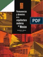 Permanencias y Devenires del Movimiento Moderno en México