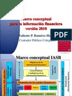Marco Conceptual NIIF 2010