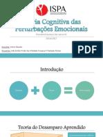 Teoria Cognitiva das Perturbações Emocionais