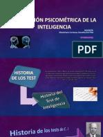 evaluacion psicometrica de la inteligencia