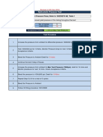 Pressure Transfer Line Hydrostatic Test