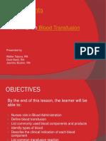 Blood Transfusion Seminar