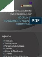 Modulo 10 Planeamento Anual e Estrategico