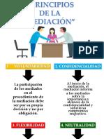 Principios de La Mediacion y Proceso de Mediacion