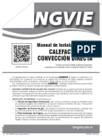 Catalogo Longvie Calefactor Por Conveccion