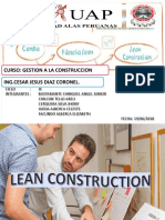 Exposicion Lean Construction