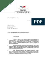 Modelo Oficio Comissões