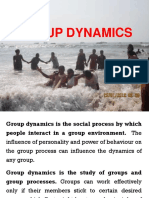 Unit IV, Ch-29 Group Dynamics