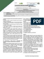 Formato Para Examenes. 2do Secundaria (1)