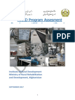 Afghanistan Rural Development Report
