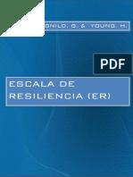 Escala de Resiliencia (ER)