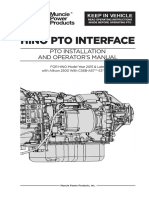 IN16-03 HINO PTO Wiring Instruction Manual