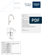 GROHE Specification Sheet 32918DC0