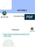 Cri Lecture 5 Innovative Opportunities