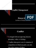 Conflict Mgmt