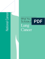 What You Need to Know About Lung Nci
