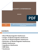 52136034 Electromagnetic Interference