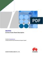Huawei MA5680T/MA5683T H801PRTE Power Board Hardware Description