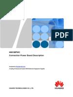 Huawei MA5608T H801MPWC DC Power Board Hardware Description