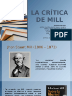 La Crítica de Mill
