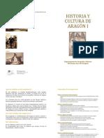 Díptico de Historia y Cultura de Aragón 2