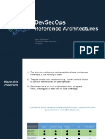 DevSecOps Reference Architectures 2018