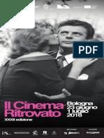 Il Cinema Ritrovato 2018 Programma