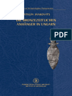 Die bronzezeitlichen Anhänger in Ungarn
