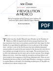 A New Revolution in Mexico   The New Yorker