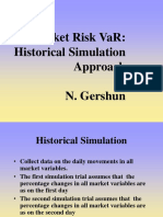 VaR Historical Simulations and EVT(1)
