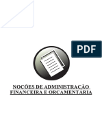 06 Nocoes de Administracao Financeira e Orcamentaria