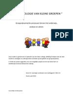 De Psychologie Van Kleine Groepen-1 (1)