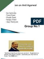 Anil Agarwal PPT