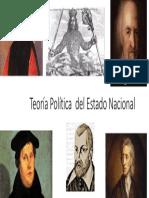 Teoría Política Del Estado Nacional
