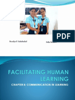 Facilitating Human Learning Chapter 8_2