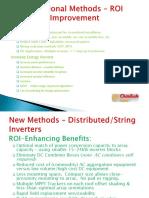 Traditional Methods – ROI Improvement