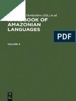 (Handbook of Amazonian Languages, 4) Desmond C. Derbyshire, Desmond C. Derbyshire, Geoffrey K. Pullum-Handbook of Amazonian Languages-De Gruyter Mouton (1998)