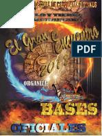Bases Del III Concurso de Caporales y Tinkus Cielo y Tierra Rikchariano  El Gran Encuentro 2018